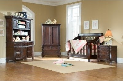 Creations Baby Ravenna Crib Collection in Espresso modern-cribs