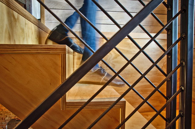 Cumberland Street contemporary-staircase
