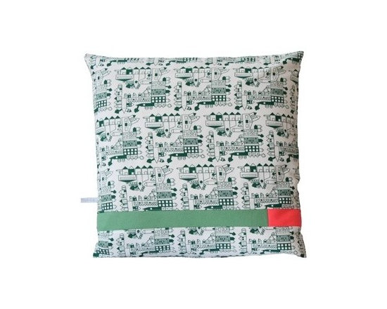 Dutch Cushion - Mint -