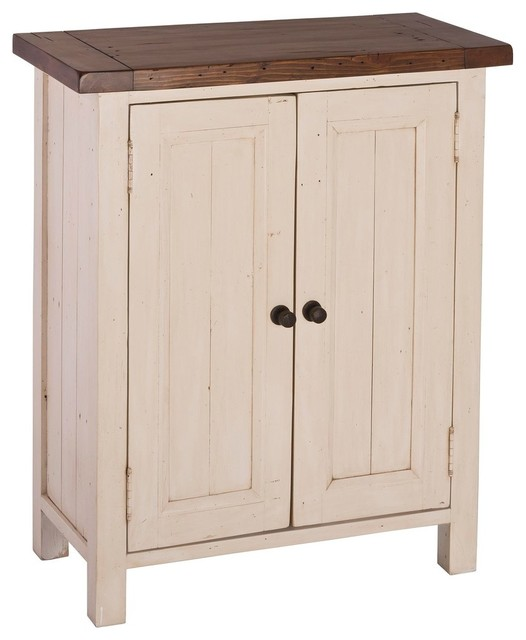small cabinet country white transitional accent chests and cabinets