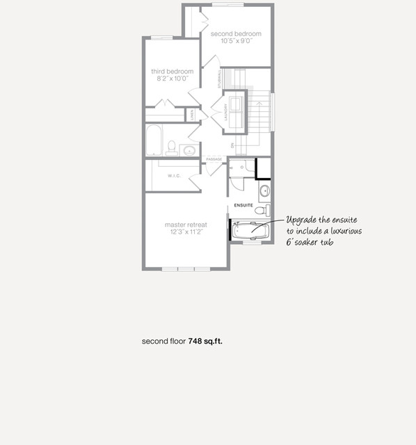 Verso Showhome in McConachie traditional-floor-plan