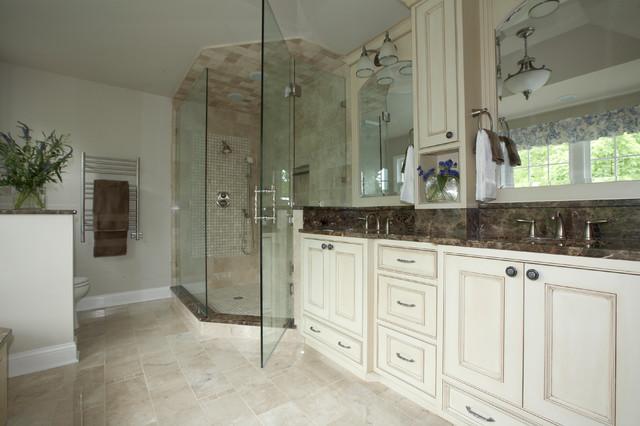 Master Bath Transformation D traditional-bathroom