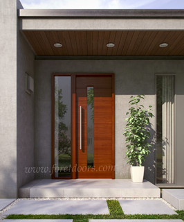 Modern contemporary entry doors contemporary front for Exterior doors miami