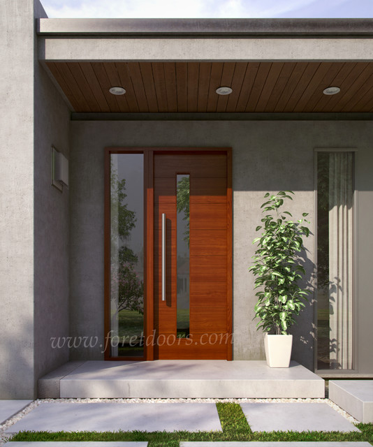 Modern contemporary entry doors contemporary front for Modern front entry doors