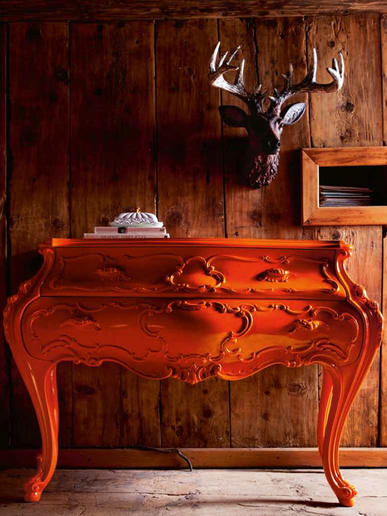 Creazioni Poldo Chest - Poldo chest of drawers in orange from Creazioni