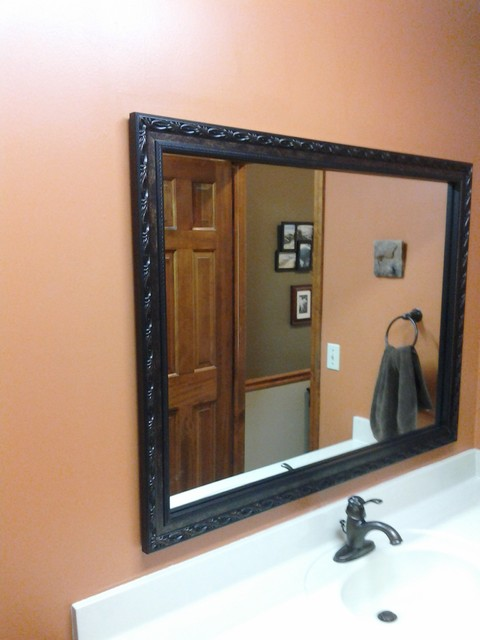mirrors traditional bathroom other metro by national home