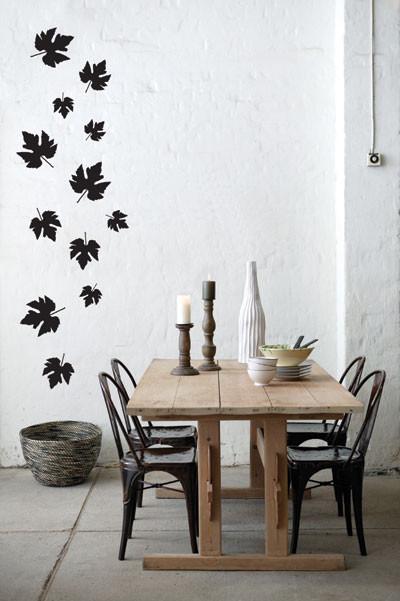 Ferm Living - Falling Leaves Wall Sticker modern-wall-decals