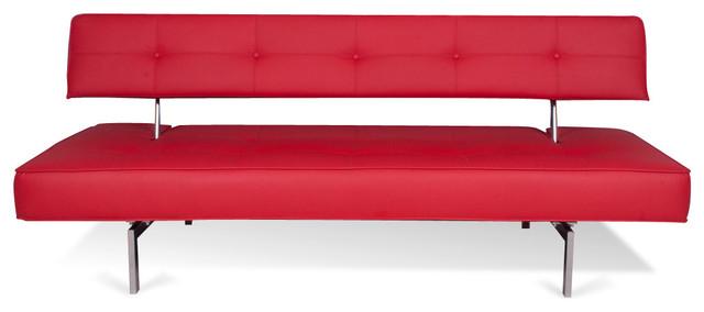 Bosco Red Sofa Bed modern-futons