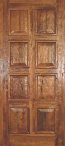 traditional-interior-doors Paneled Wood Interior Home Design on wood paneling, wood walls designs inside house, wood panelled interiors,