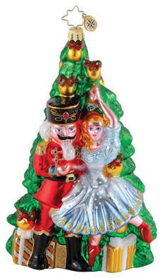 Christopher Radko Nutcracker Ballet Christmas Ornament traditional-holiday-decorations