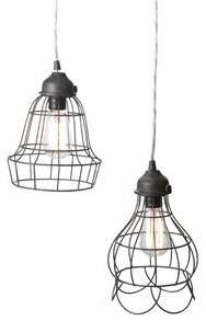 Wire Pendant Lamp traditional pendant lighting