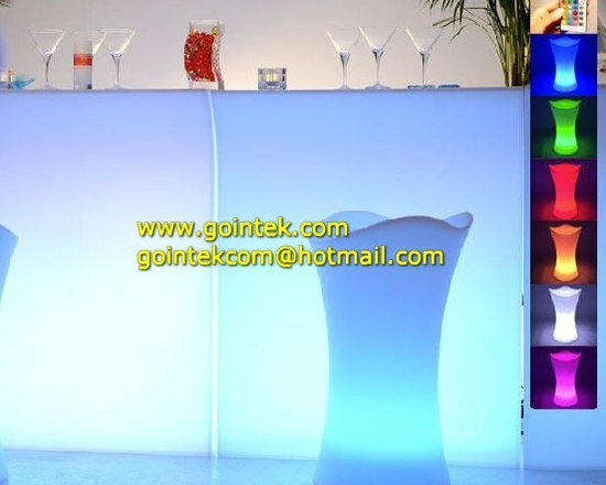 Modern Bar Counter Design with RGB Color Changing -