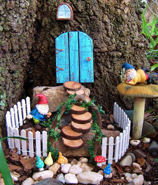fairy garden set by hickory hill woodworks contemporary