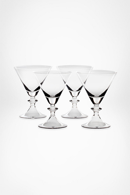 High Rise Stemware by DVF contemporary barware