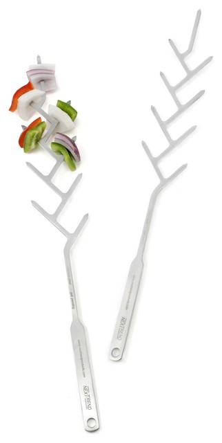 BRANCH SKEWERS - SET OF 2 eclectic grills