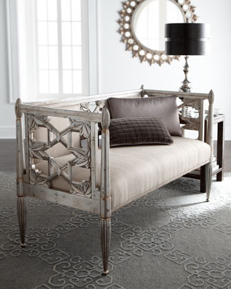 Celine Settee traditional-indoor-benches