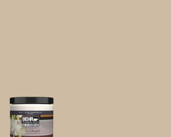 BEHR Premium Plus Ultra 8 oz. #710C-3 Gobi Desert Interior/Exterior Paint Sample -