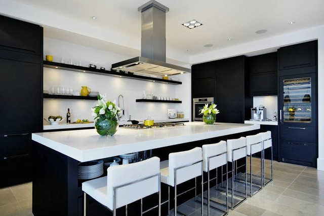 Interiors Contemporary Kitchen Calgary By Moda Modern Office Of Design Architecture
