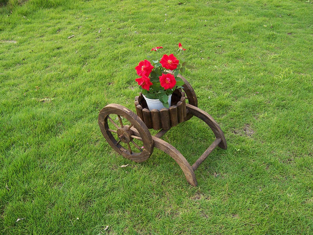 Wagon Planters - modern - outdoor decor - other metro - by Dalian ...
