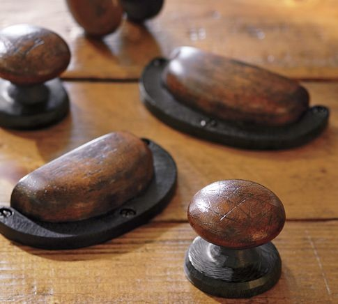 Equestrian hardware rustic cabinet and drawer knobs for Traditional kitchen cabinet handles