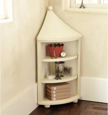 Finial Corner Cabinet - Transitional - by Ballard Designs