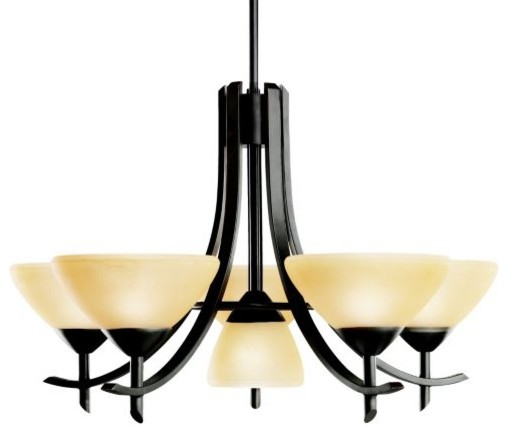 Olympia 6-Light Chandelier contemporary-chandeliers
