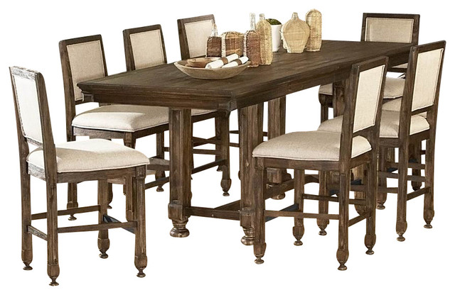 homelegance ardenwood 10 piece counter height dining room