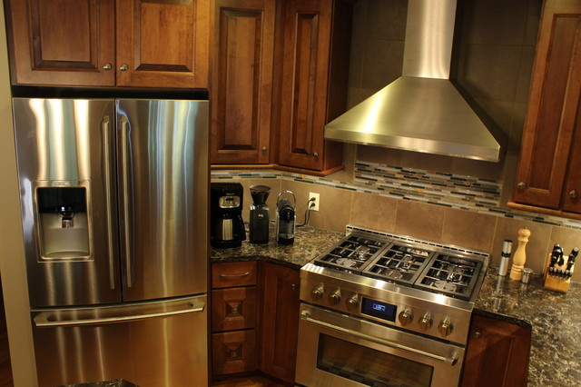 Kitchen Remodel, Hudson, OH #1 traditional-range-hoods-and-vents