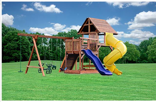 custom swing sets by kid 39 s creations modern kids