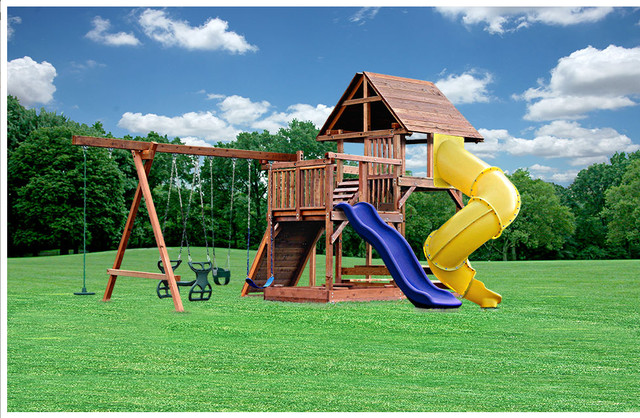 Custom Backyard Playsets : all products outdoor backyard play outdoor swing sets