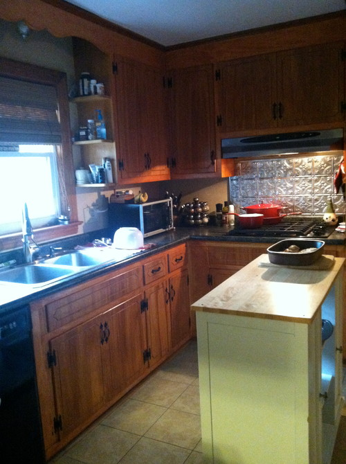 Need help updating my 1960's kitchen