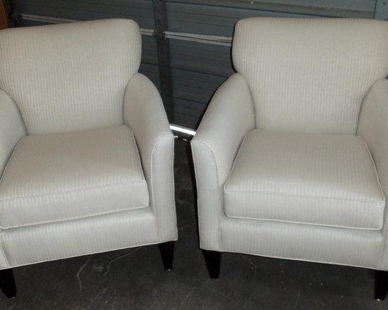 Customer Custom Orders - Rowe Times Square Chairs