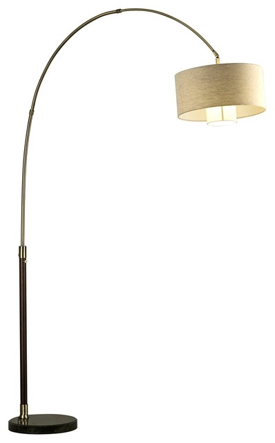 tall arc floor lamp brass arc floor lamp. Black Bedroom Furniture Sets. Home Design Ideas
