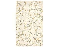 Rizzy Home Beige Country Area Rug contemporary-rugs