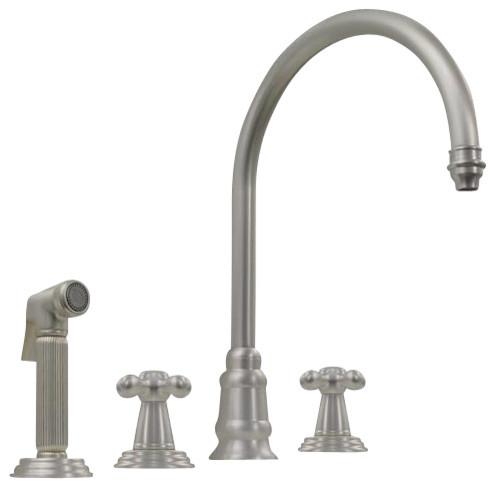 Whitehaus Wh15664-Aco Evolution Mixer contemporary-kitchen-faucets