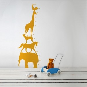 Ferm Living | Animal Tower WallSticker for Kids modern-wall-decals