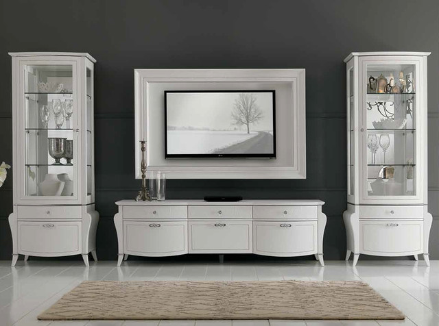 Wall Unit Entertainment Center Spar Prestige 104 - $9,999.00 - Modern ...