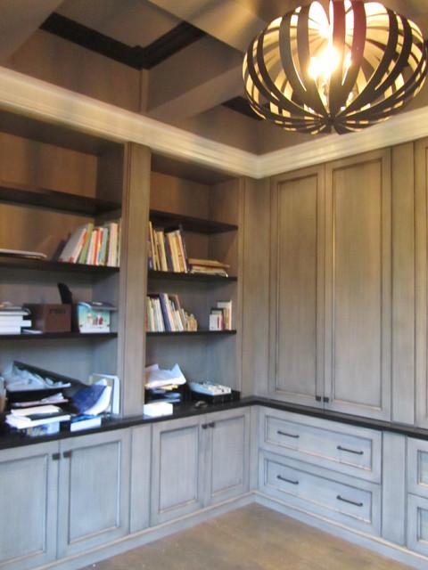 Arjay Residence modern-home-office