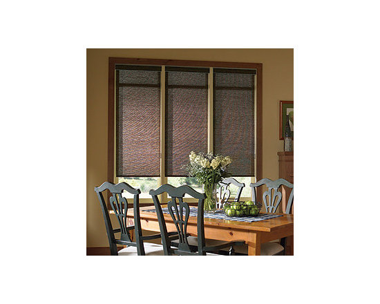 Comfortex - Comfortex Envision Roller Shades: Polynesian Sands and South Pacific Stripe - When it's fabric that matters, Envision Roller Shades are the window treatment that you want.  The Polynesian Sands and South Pacific Stripe collections have the natural look of a woven grass shade with all the versatility of a roller shade.
