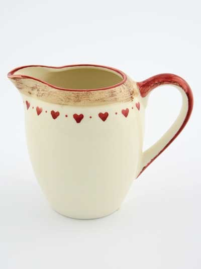 Heart Creamer traditional serveware