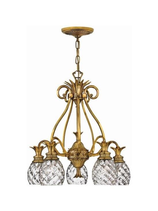 Hinkley Lighting 4885BB 5 Light Chandelier Plantation Collection -