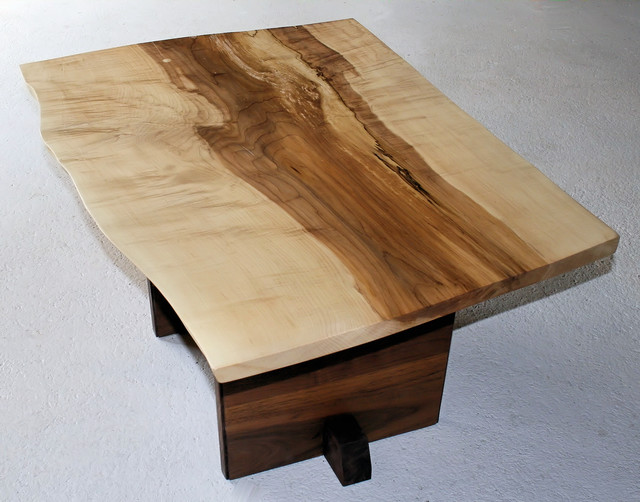 Maple Coffee Table Modern Coffee Tables Boston By 60nobscot Home