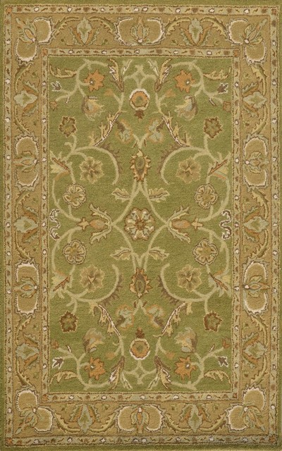 Dynamic Rugs Sapphire 8X11 4950-432 Sage/ Light Green modern-rugs