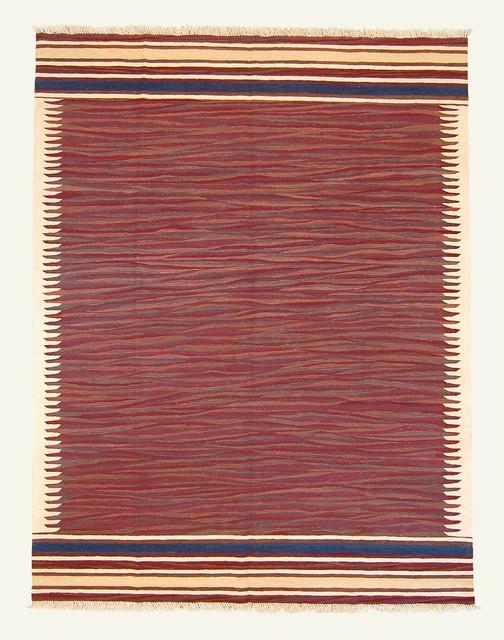 New Turkish Kilim Area Rug contemporary-rugs