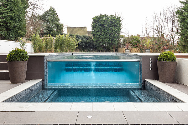 Outdoor Pools modern-pool