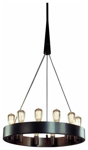 "24"" Candelaria Chandelier contemporary-chandeliers"