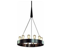 "24"" Candelaria Chandelier contemporary-chandeliers"
