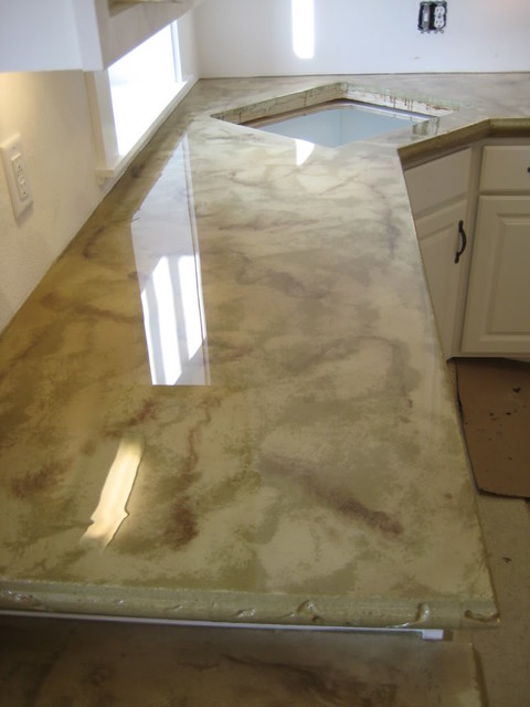 Decorative Epoxy Floor Craftsman Detroit By The
