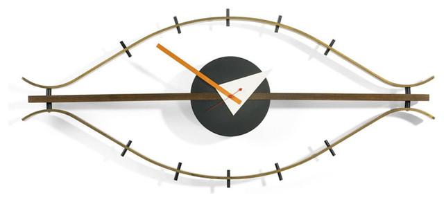 Kardiel George Nelson Eye Clock modern-clocks
