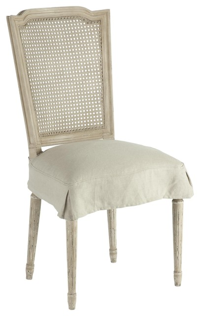 Aidan Gray Ethan Dining Chair with Slip Cover